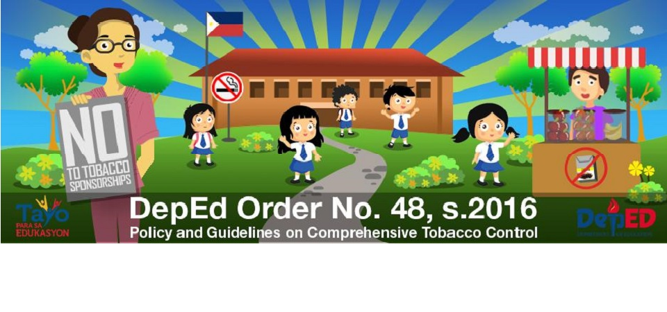 DO 48, s. 2016 - Policy and Guidelines on Comprehensive Tobacco Control